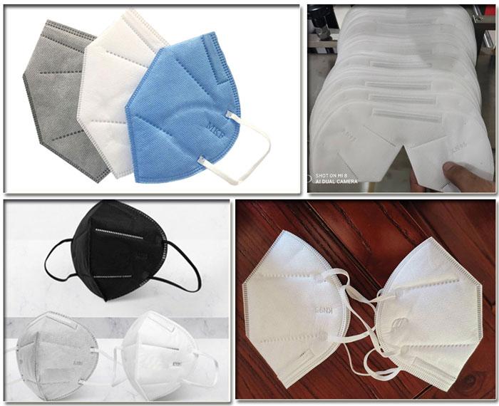 成都口罩机 成都口罩机生产商样品展示