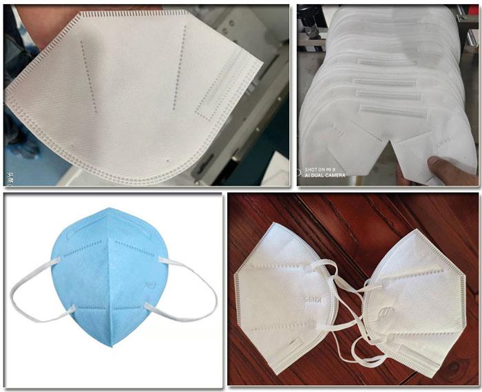 四川口罩生产线 四川口罩生产线设备厂家样品展示